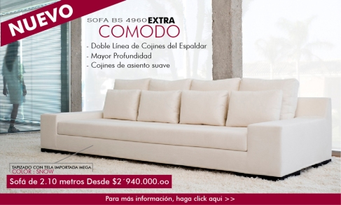 Sofa Contemporaneo Bs 4960